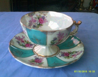 Vintage Tea Cup and Saucer