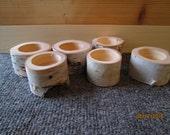 Custom Order For Rebecca, birch tea light