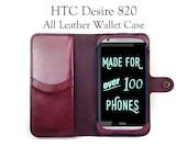 HTC Desire 820 Leather Wa...