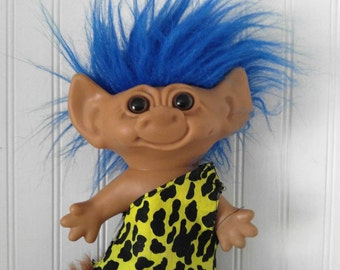 Troll doll- caveman troll - Uneeda doll