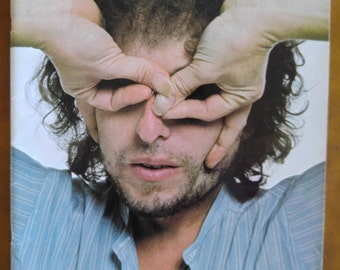 Bob Dylan concert program - concert souvenir