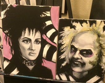 beetleJuice and Lydia Paintings.