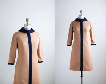 60s dress / 1960s mod shift dress / Gotta Move dress