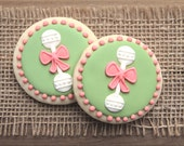 Baby Shower Favors / Baby Shower Party Favors / Baby Rattle Favors / Baby Rattles / Baby Rattle Sugar Cookies - 12 cookies