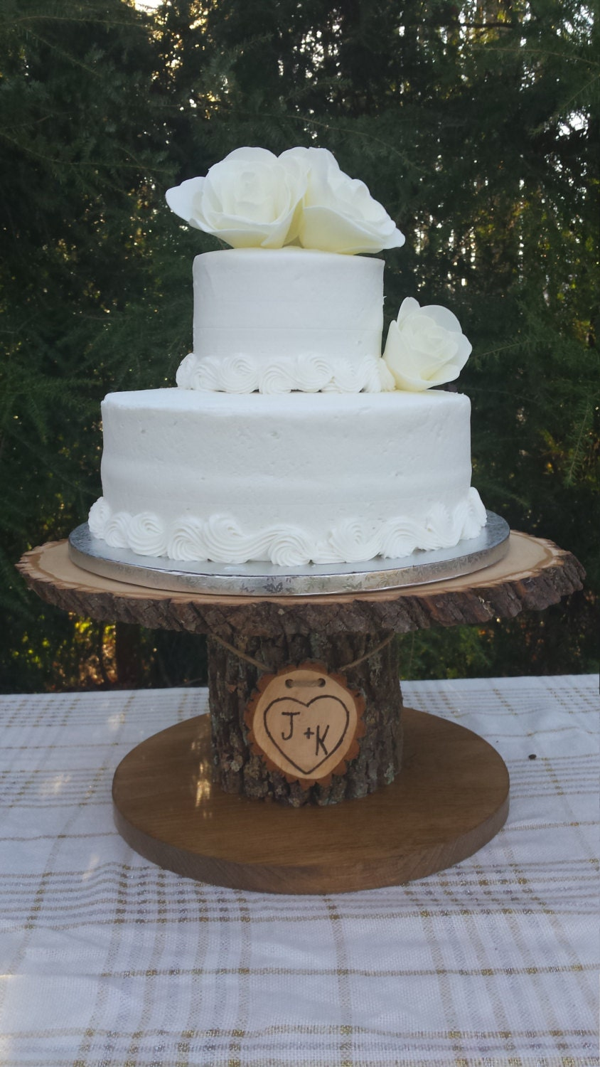 cake stand for wedding cake tree cupcake stand log cupcake stand rustic cake stand wood 2332