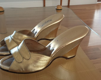 1950s Gold & Silver Wedges