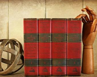 vintage book set, Studies In The Psychology Of Sex by Havelock Ellis, 1936, complete set 4 volumes, sexual studies, book decor, photo prop
