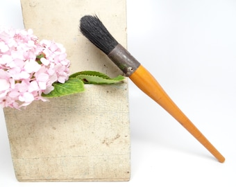 how to make a horse hair paint brush