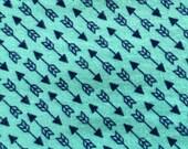 UnPaper Towels Reusable Cloth Arrows Blue  Set of 10