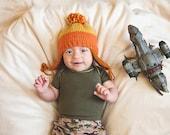 Cunning Hero beanie newborn to child size