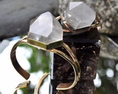 Child of Crystals // Pharaoh Cuff // Phantom Quartz Bracelet