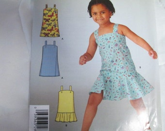 Simplicity 4562  Girls dresses  Sizes 3-8