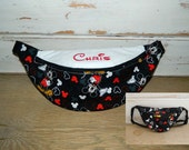 Disney Mickey Mouse Fanny Pack With or Without Embroidered Name - Children to Adult Sizes