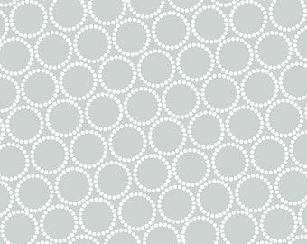 ON SALE - Mini Pearl Bracelets in Tin Man - Lizzy House for Andover Fabrics - A-7829-C2 - 1/2 Yard