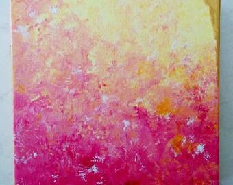 Abstract Painting, Canvas Painting, Original Abstract, Abstract Art, Textured Wall Art, Metallic Art, Anna Wireman, Fine Art, Modern Art