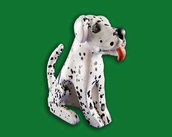 Ceramic Dog Figure
