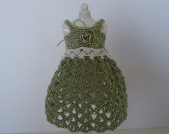 Blythe Dress in Sage