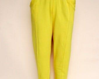 Vibrant Yellow  Kansai Yamamoto Sweatpants