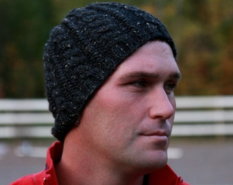 Beanies - Beanie Hats for Men - Winter Hats - Beanie Hat - Beanies - Custom Hats - Wool Hat - Mens Hats - Trucker Hats - Hand Knit Hat Cable