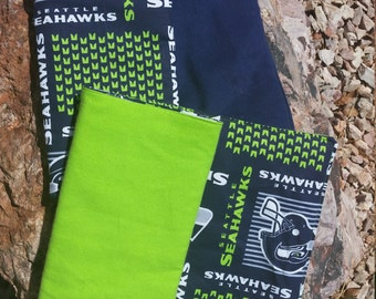 Seattle Seahawks Burp Cloths