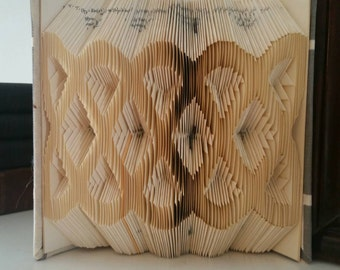 Celtic Knot Book Fold Pattern  - Measure Mark and Fold Method - DIY Fold Your Own Book