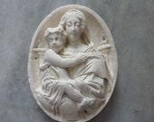 Religious Meerschaum, French, Circa 1860-1870