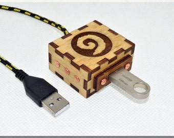 Warcraft Hearthstone USB Extender Cord with Durable Knit Nylon Cable. Game gadget !!! Free shipping !!!