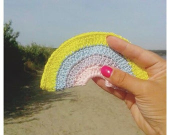 CROCHET PATTERN RAINBOW bunting, Pattern, Rinbow Garland,Rainbow,Crochet,Pattern,Kids Decor,Party Decor,Party Garland,Handmade,Crochet Gift