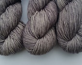 Overcast on Skeinny Dipping MCS Luxe Worsted 75/15/10 Merino/Cashmere/Silk