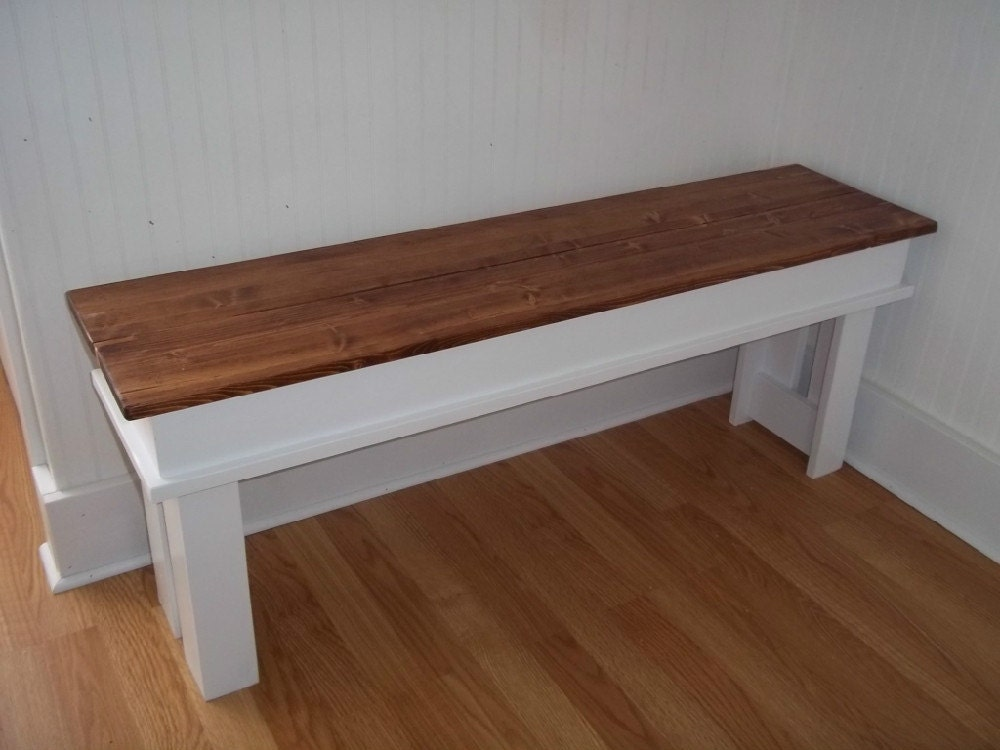 Farmhouse bench entryway bench kitchen bench mudroom bench Mud room benches
