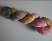 Lace-O-Licious - a merino silk blend lace yarn - Vintage Flower