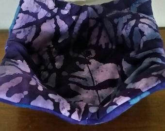 Hand sewn microwave bowl/pot holder