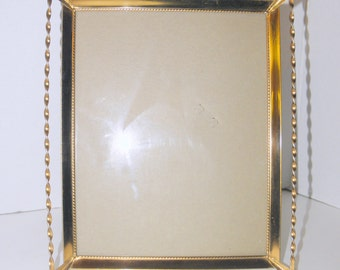 8x10 Gold Shabby Metal Picture Frame (Stanley)