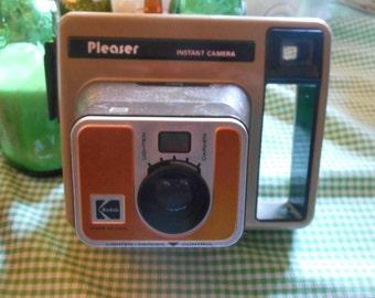 Kodak Pleaser collectible instant camera collection collector polaroid instant film vintage
