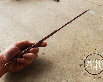 Hand Forged Copper Wand/Baton