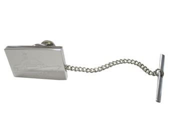Engraved Boat Tie Tack