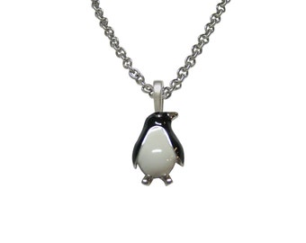 Penguin Pendant Necklace