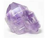 Amethyst Crystal, Skeletal Purple Amethyst Quartz Crystal, new find from Charcas, Mexico, Double terminated,Thumbnail mineral Specimen