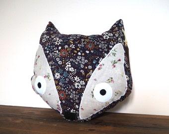 Fox Pillow, Fox Cushion, Fox Nursery Decor,  Woodland Pillow, Animal Pillow, Fox Decor Nursery Pillow, Animal Cushion