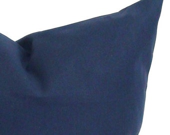 SOLID NAVY PILLOW.16x20, 16x24 or 12x20 inch.Pillow.Blue Decorative Pillows.Lumbar Pillow Cover.Solid Navy Blue.Pillow.Blue.Cushion.cm