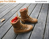 ON SALE Children's Vintage Inouk Boots / Vintage Pillow Boots with Gum Soles / Made in Canada /  Size 3