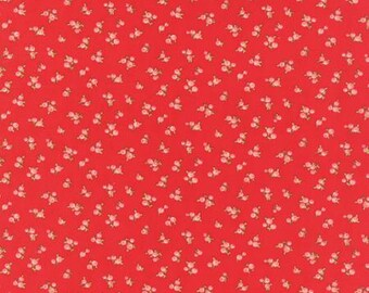 PRESALE Little Ruby Quirky Red 55131 11 by Bonnie and Camille from Moda -1 yard
