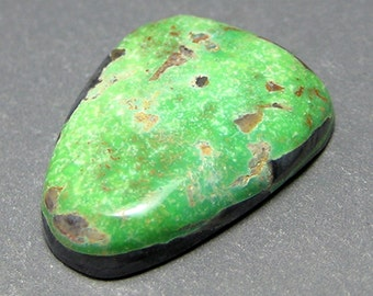 Northern Lights Mine Natural Turquoise Cabochon from Nevada, 10.05 ct.