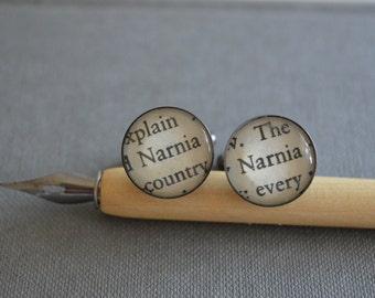 Narnia Book Cufflinks