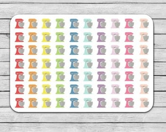Stand Mixer Planner Stickers