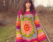 Over Sized Hippie Sweater