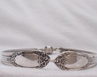 1937 Garland/Rapture Silverplate Spoon Bracelet