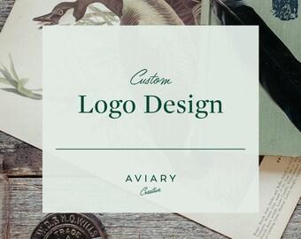 Custom Logo Design / Brand Design for Small Business by Aviary Creative