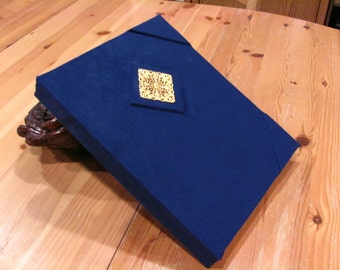 Blue and Gold Sketchbook