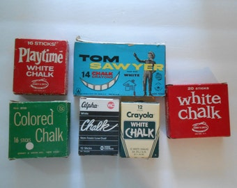 S A L E vintage chalk box collection
